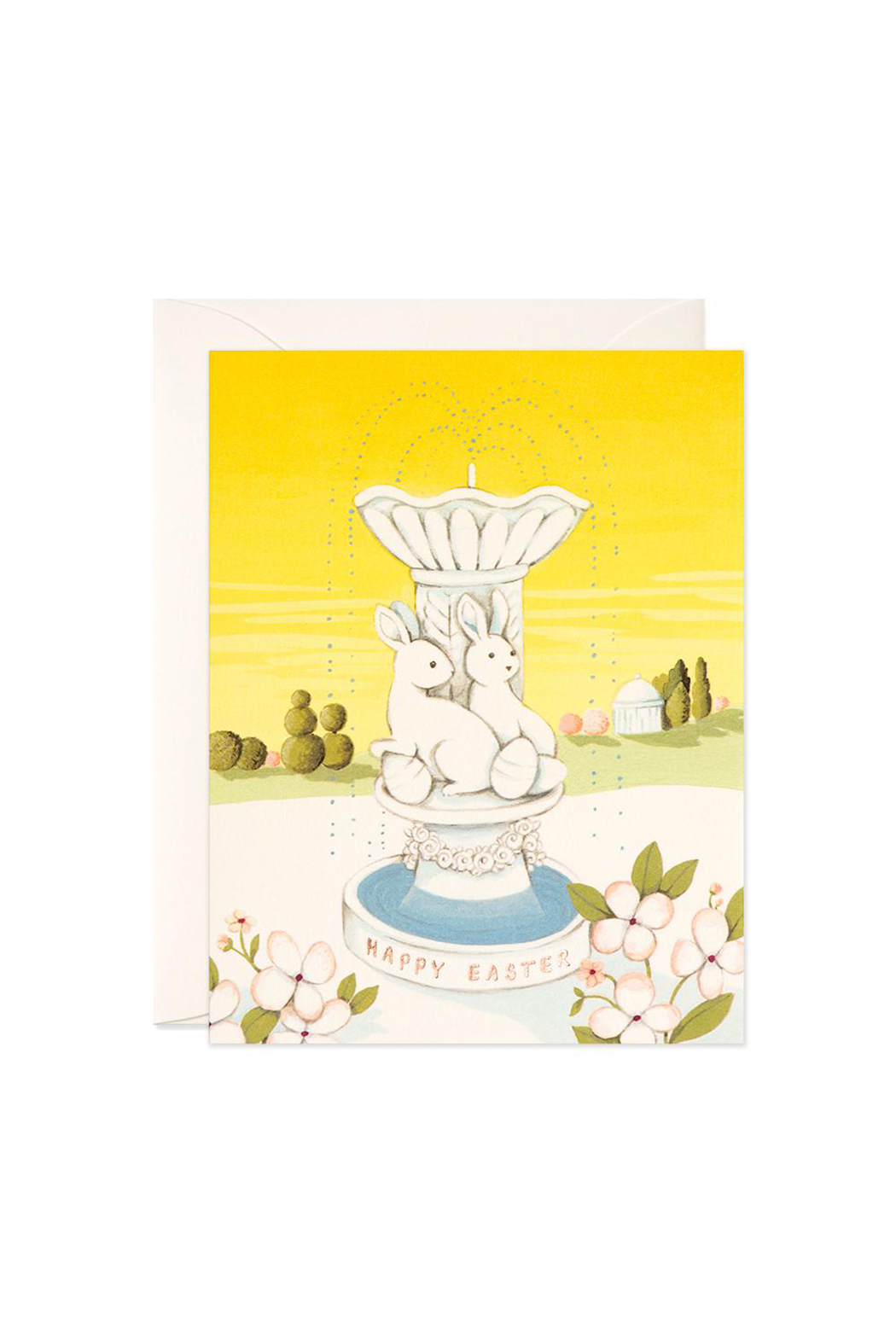 JooJoo Paper Easter Fountain Card - Front Cropped Image