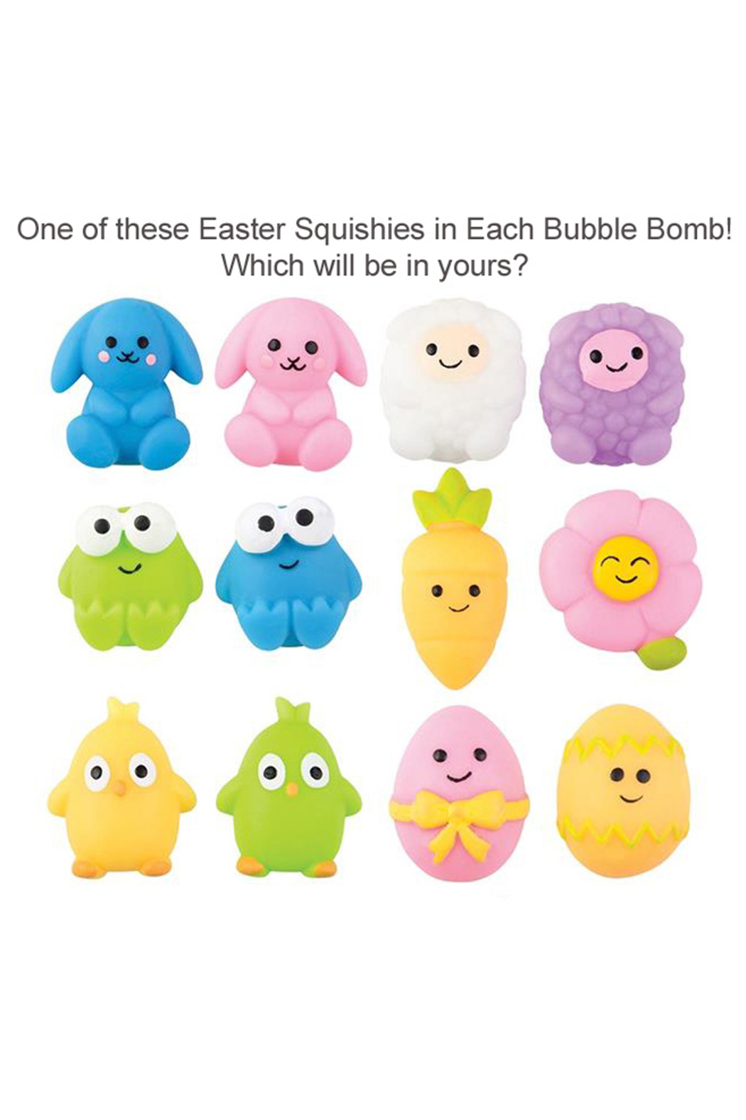 Two Sisters Easter Surprise Bubble Bath Bomb - Front Full Image