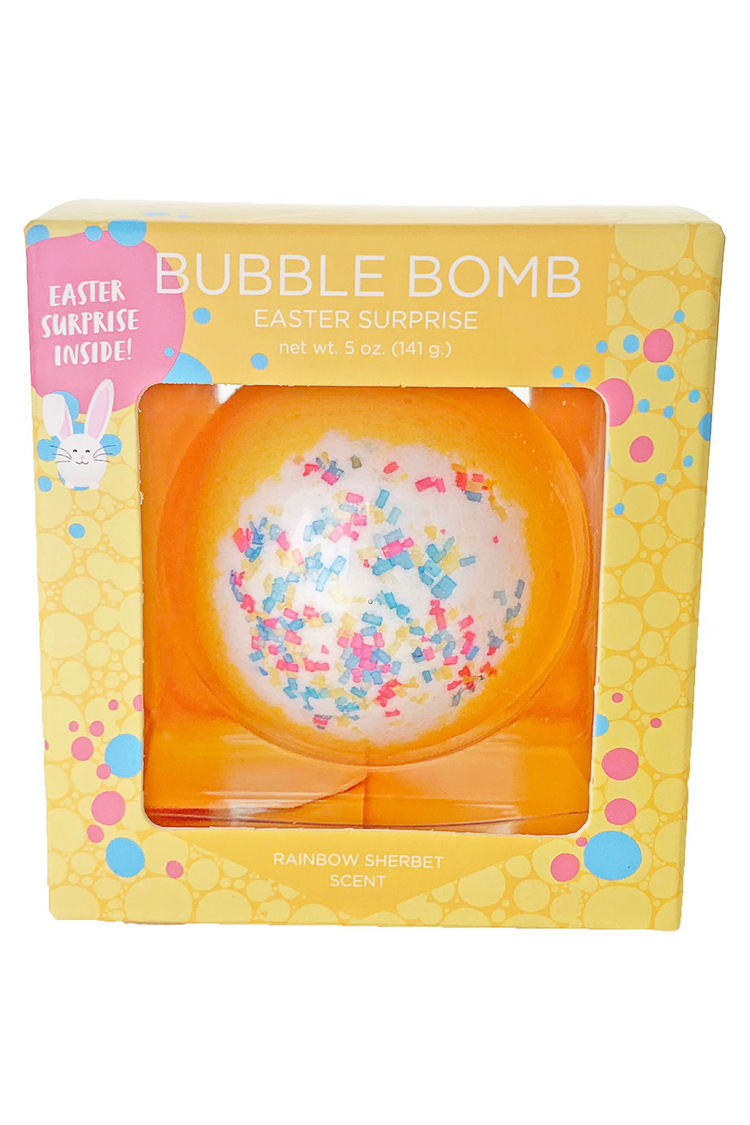Two Sisters Easter Surprise Bubble Bath Bomb - Back Cropped Image