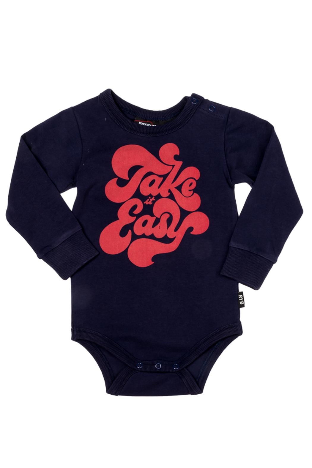 Rock Your Baby Easy Bodysuit - Front Full Image