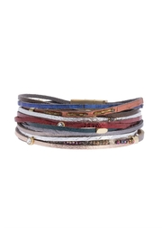 Saachi Easy Breezy Leather Bracelet - Side cropped