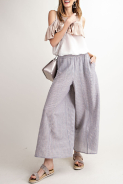 Wishlist Easy Breezy Striped Pants - Alternate List Image
