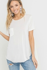 Lush Easy Breezy T - Front cropped