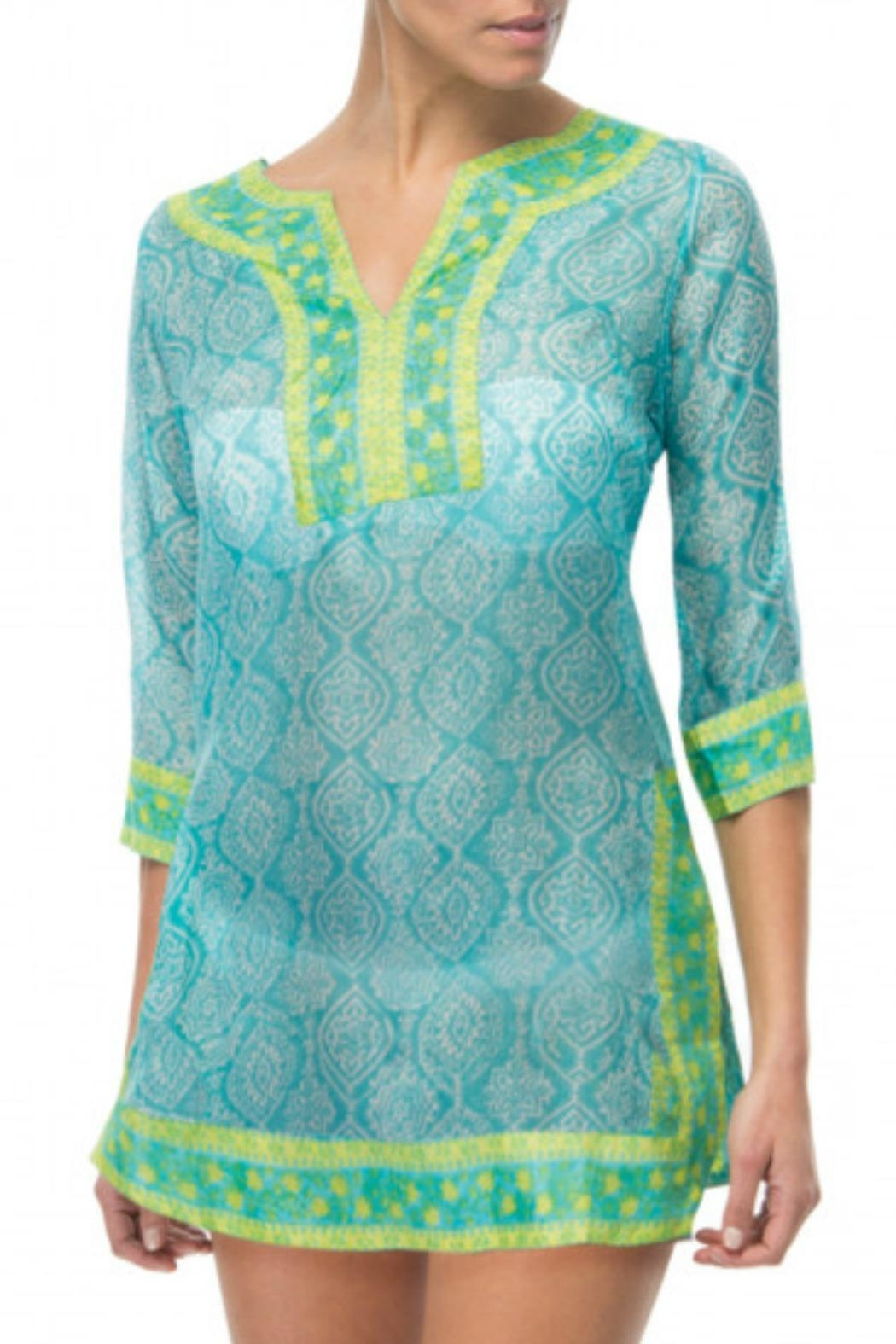 Gretchen Scott Easy Breezy Tunic - Front Cropped Image