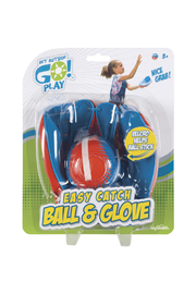 Toysmith Easy Catch Ball And Glove - Product Mini Image