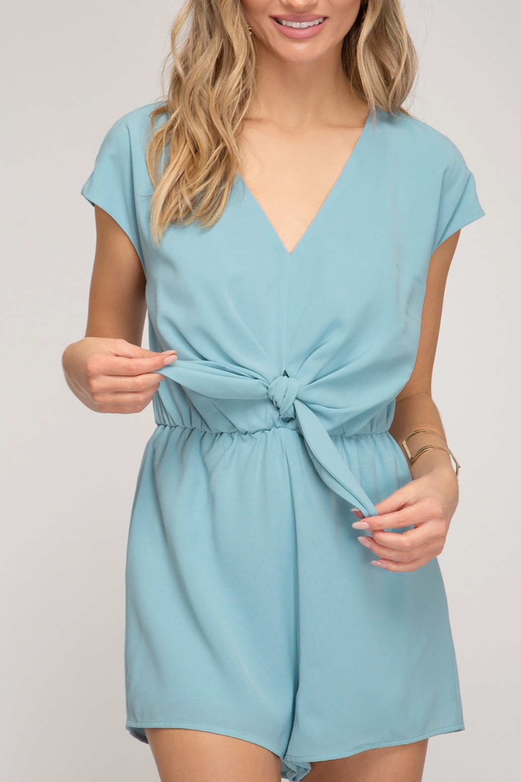 She and Sky Easy Days Romper - Main Image