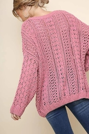 Umgee USA Easy Days Sweater - Front full body