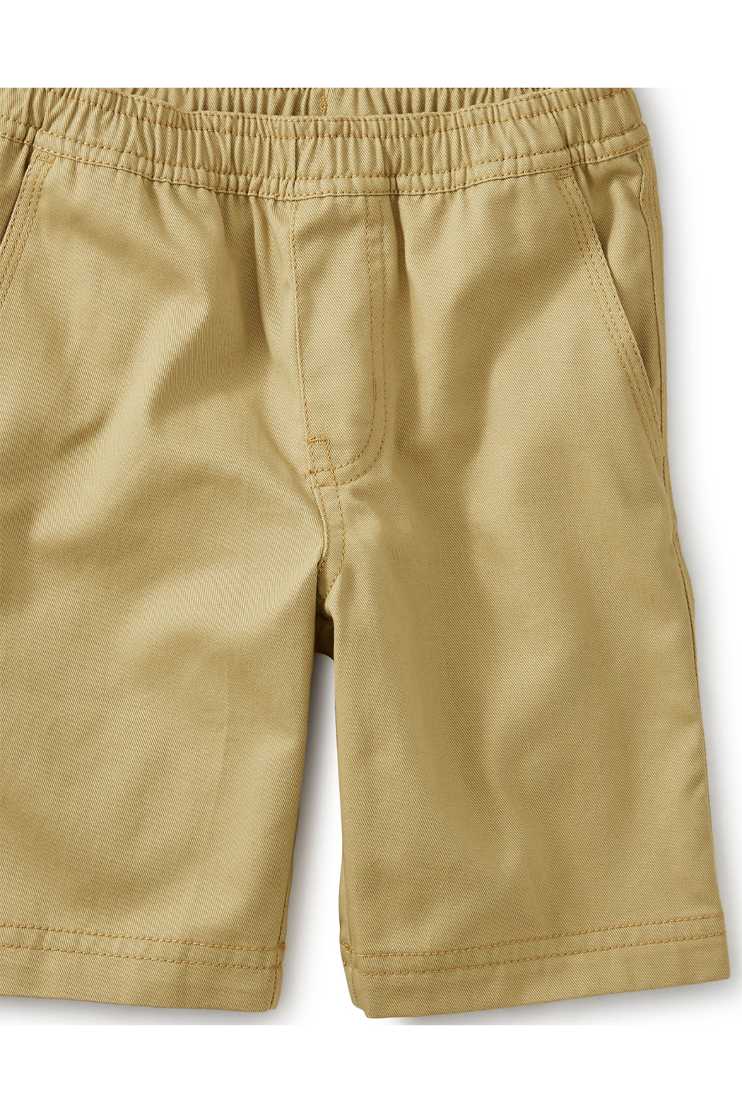 Tea Collection Easy Does It Twill Shorts - Front Full Image
