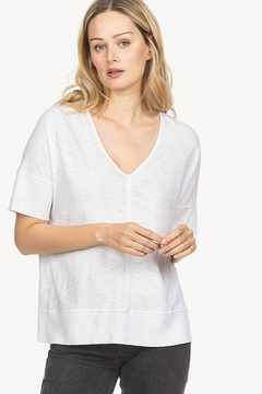 Lilla P Easy Double V-neck Top - Product List Image