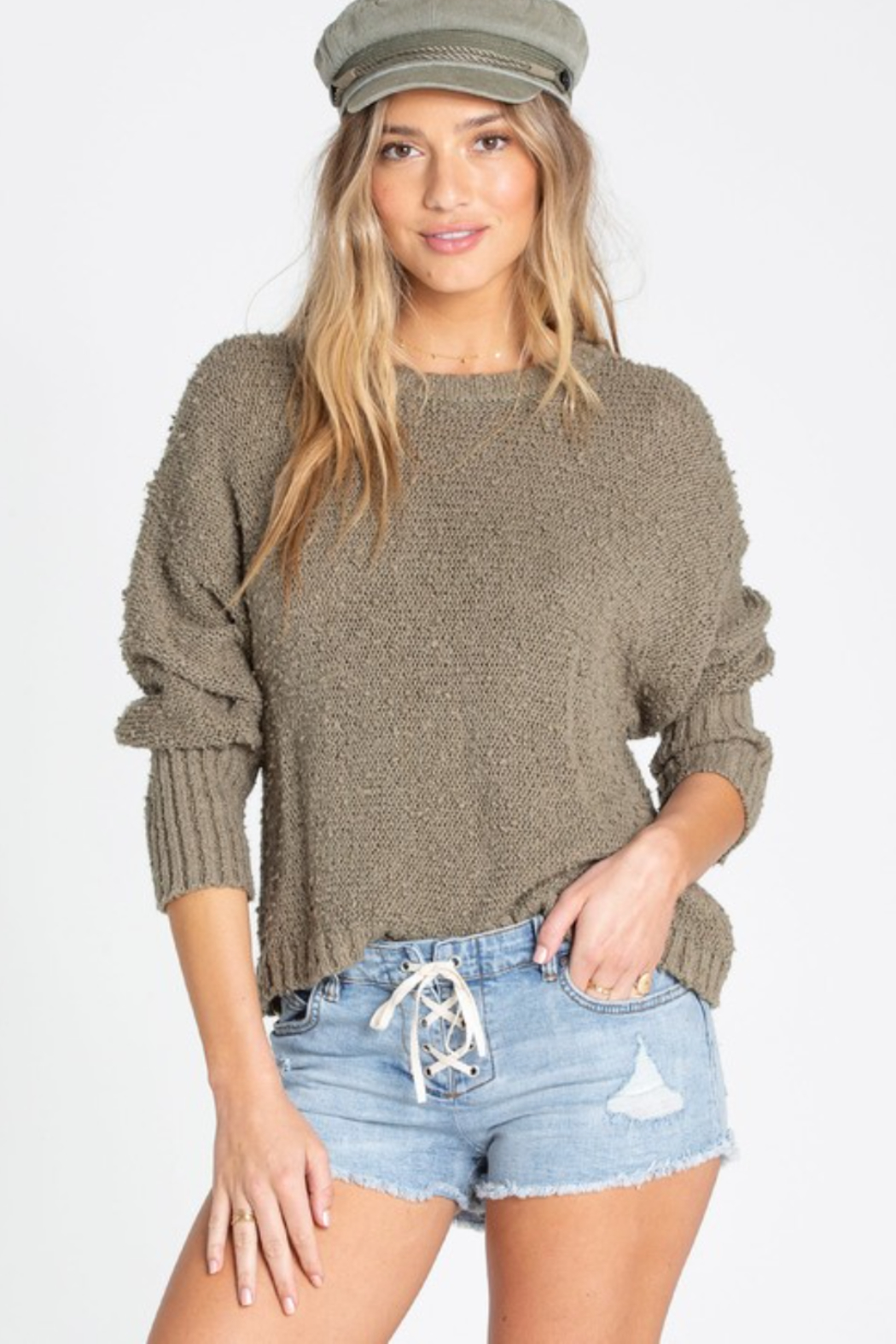 Billabong Easy Going Sweater - Front Cropped Image