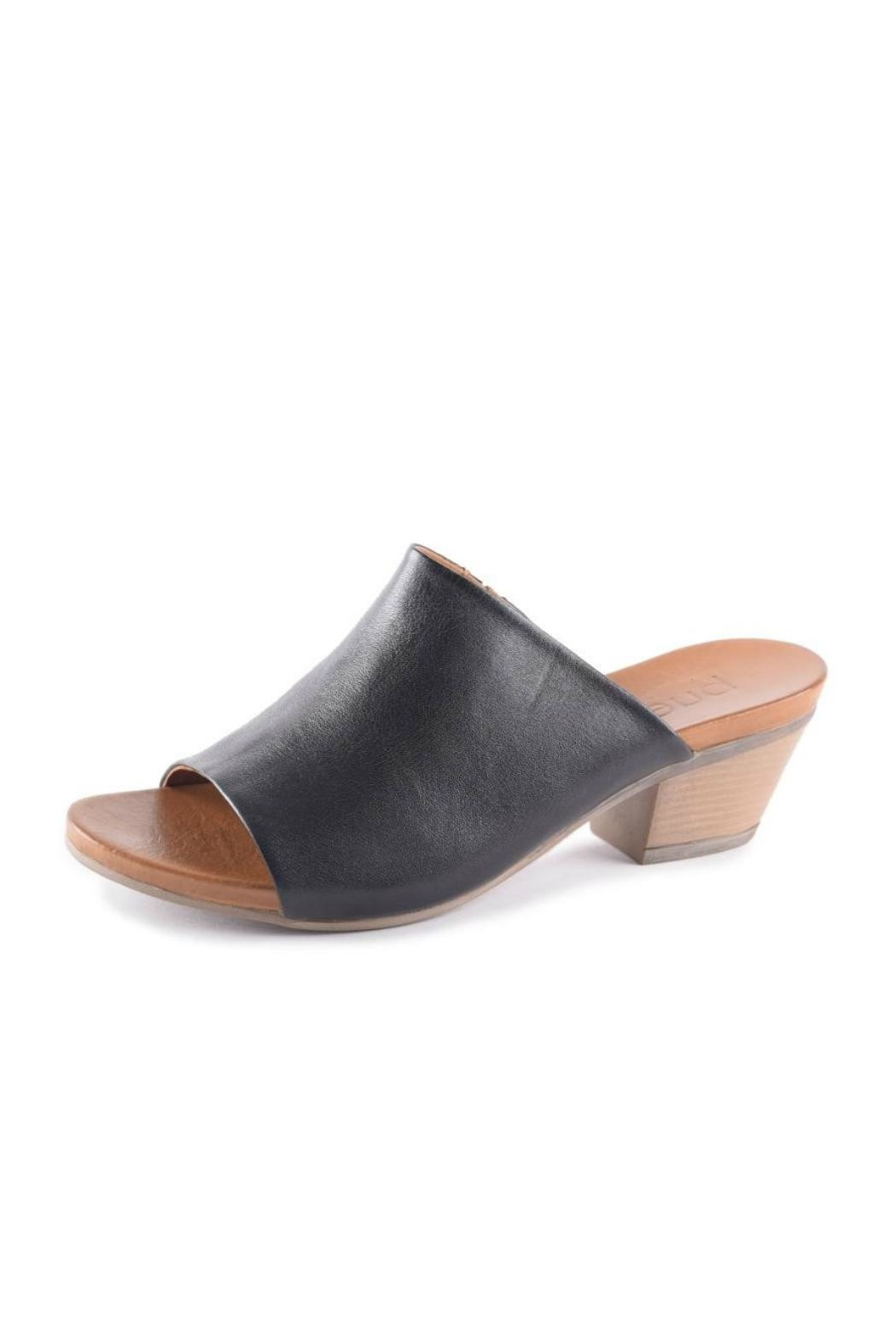 Bueno Shoes Easy Leather Slide - Main Image