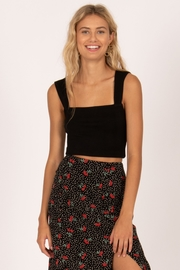 AMUSE SOCIETY Easy Love Crop Top - Front cropped