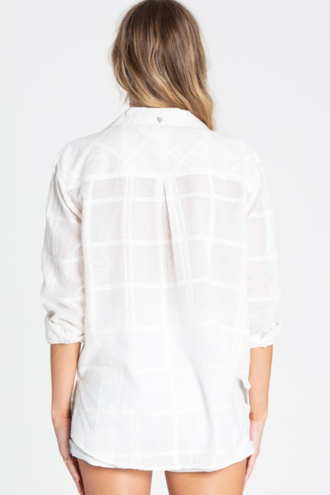 Billabong Easy Moves Button Up - Side Cropped Image