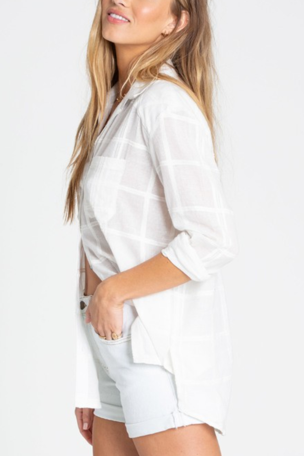 Billabong Easy Moves Button Up - Front Full Image
