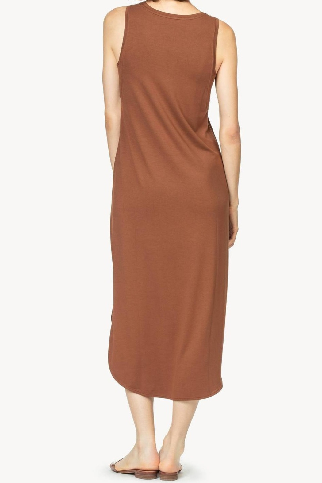 Lilla P Easy Tank Dress - Side Cropped Image