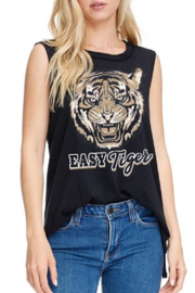 Zutter  Easy Tiger Graphic Tank - Product Mini Image