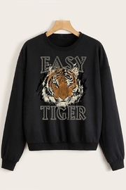 Trend Shop  Easy Tiger Sweatshirt - Front cropped