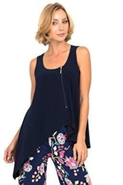 Joseph Ribkoff Easy Vest Top in Midnight Blue - Product Mini Image