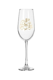 Easy Tiger So Pretty Wine Glass - Front cropped