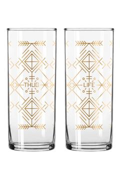 Shoptiques Product: Thug Life Cocktail Glass