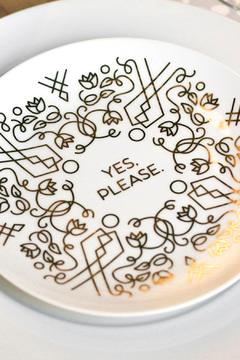 Shoptiques Product: Yes Please Plate