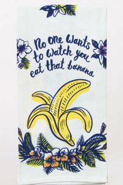 Blue Q eat that banana dish towel - Product Mini Image