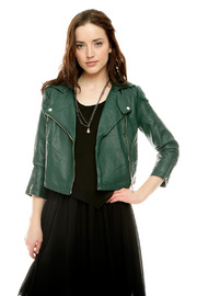 Shoptiques Product: Quilted Moto Jacket
