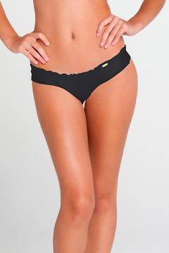 Luli Fama Ruched-Back Minimal-Coverage Bottoms - Product List Image