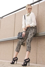 Shoptiques Product: Lace Overlay Pants