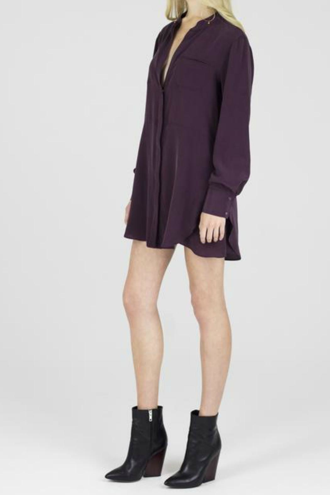 Ladaire Ebbie Silk Blouse - Side Cropped Image