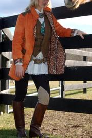 Tasha Polizzi Orange Angler Jacket - Product Mini Image