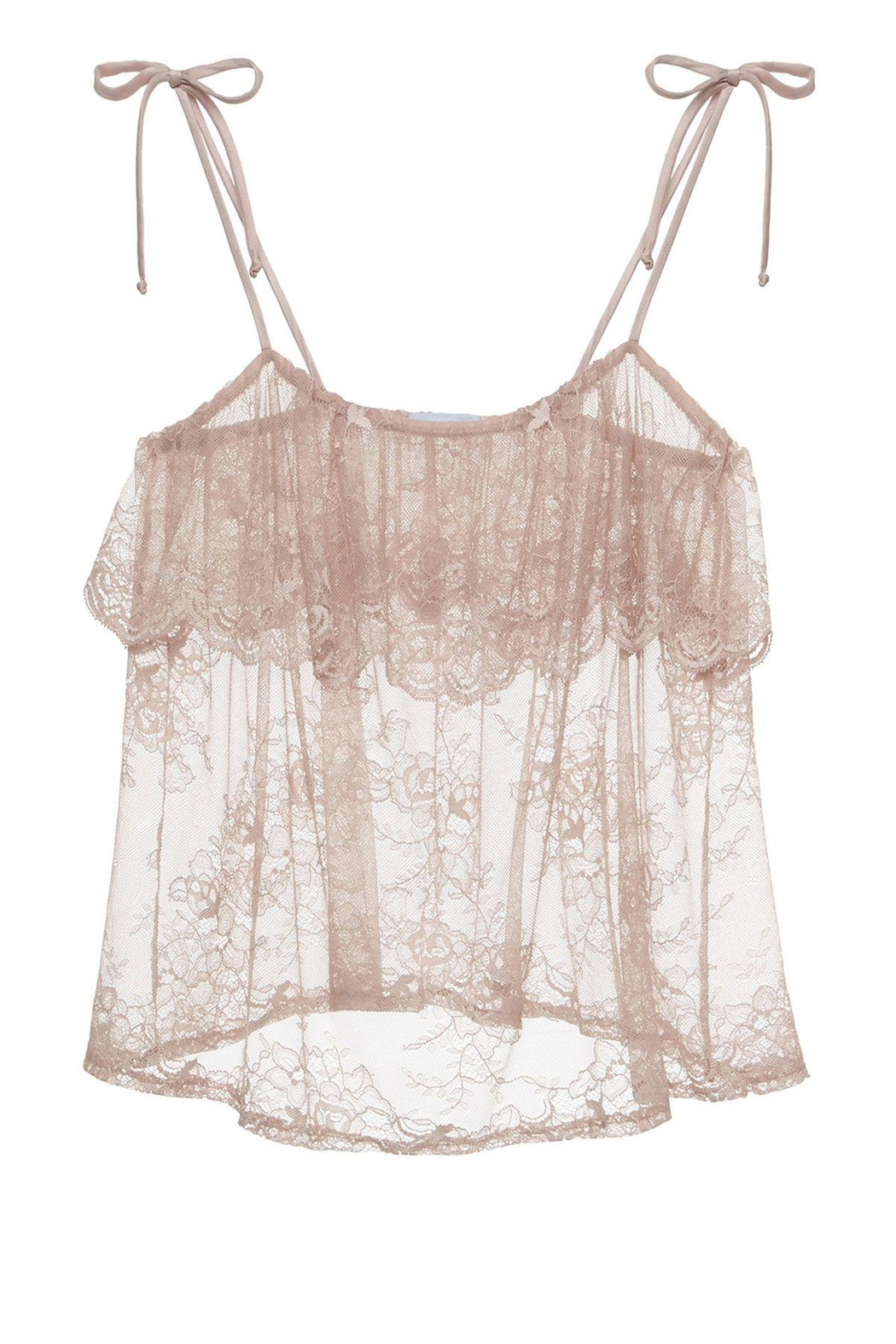 Eberjey Aurora Lace Cami - Side Cropped Image