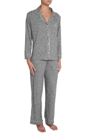 Eberjey Intimates Eberjey Bobby Long PJ Set - Front full body