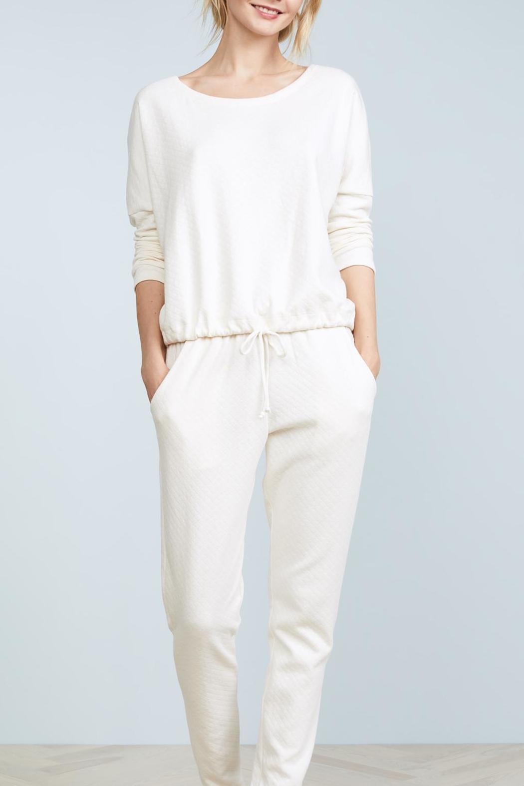 Eberjey Bruna Quilted Pajamas - Front Full Image