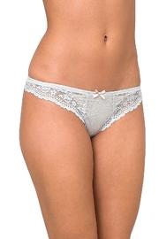 Eberjey Colette Lace Thong - Front cropped