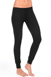Eberjey Cozy Ribbed Legging - Front cropped