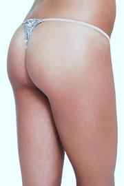 Eberjey Delphine String Thong - Back cropped