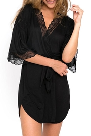 Eberjey Georgette Short Robe - Product Mini Image
