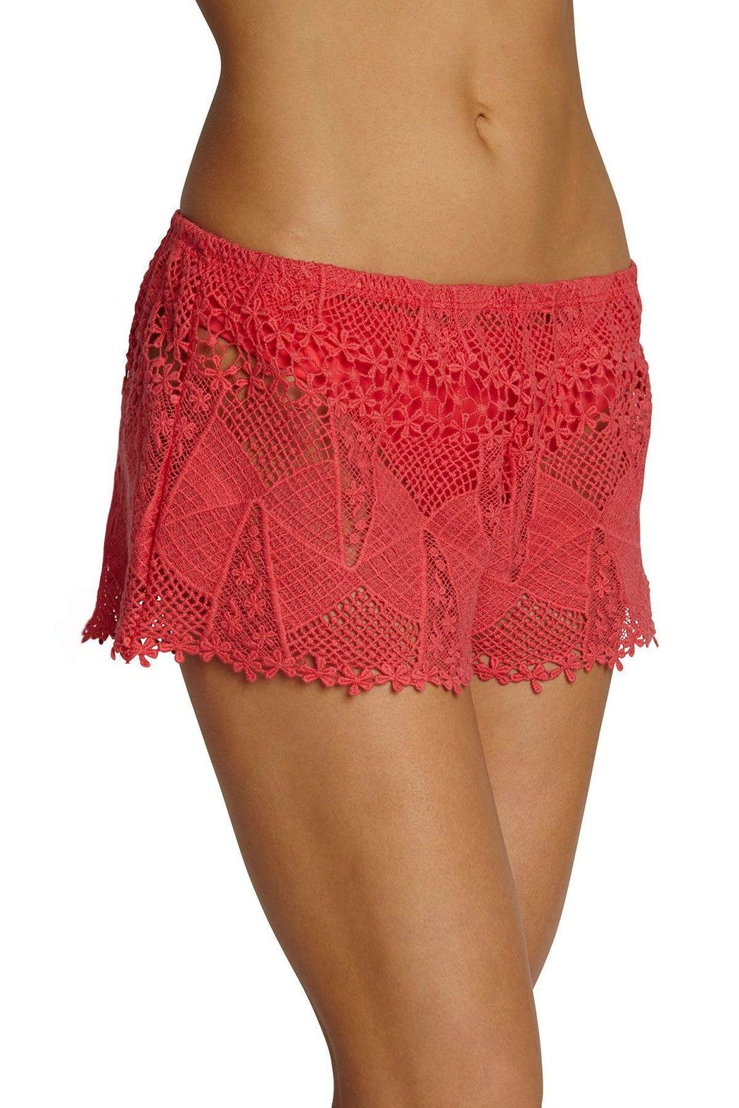 Eberjey Guajira Lace Shorts - Side Cropped Image