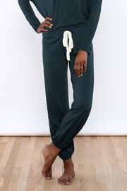 Eberjey Heather Cropped Pants - Product Mini Image