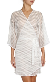 Eberjey Love Always Robe - Front cropped