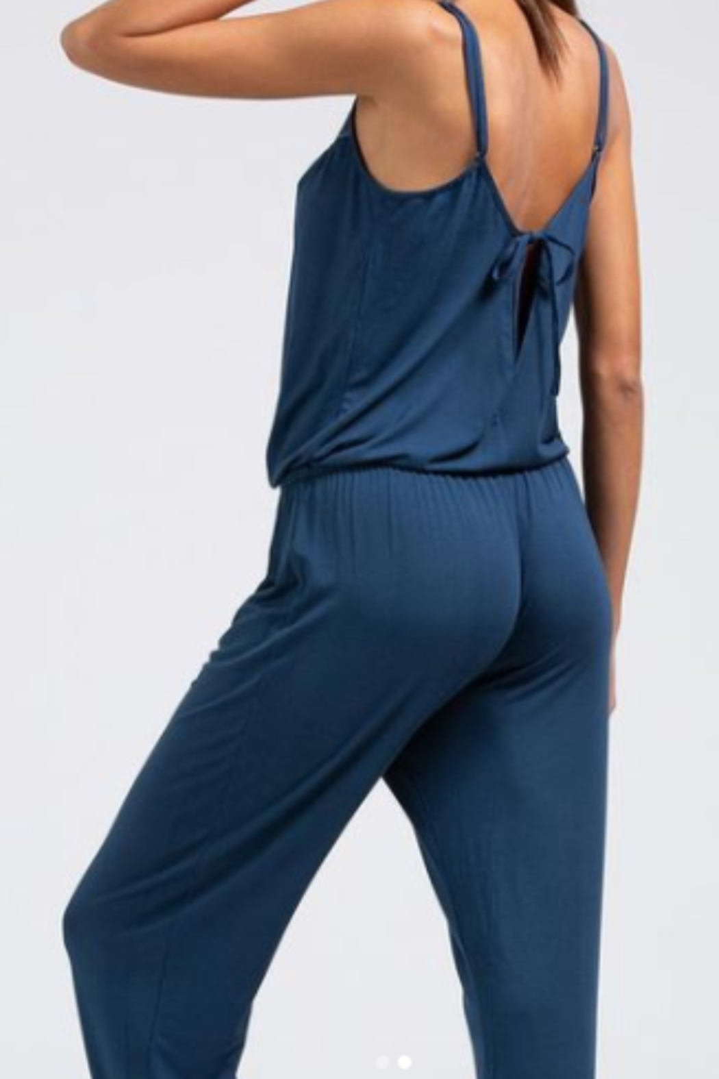 Eberjey Intimates Eberjey Lucie Button Down Jumpsuit - Front Full Image
