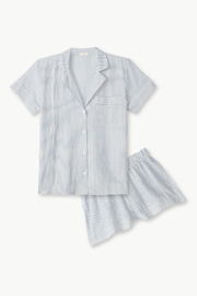 Eberjey Intimates  Eberjey  Nautico Woven Short Pj Set - Product Mini Image