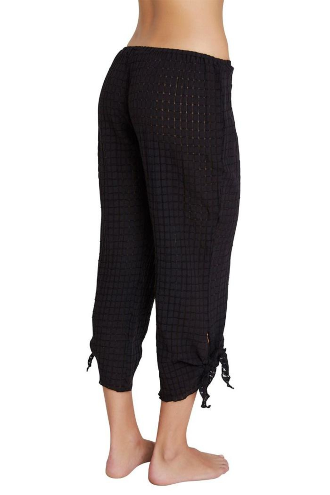 Eberjey Paz Knotted Pant - Side Cropped Image