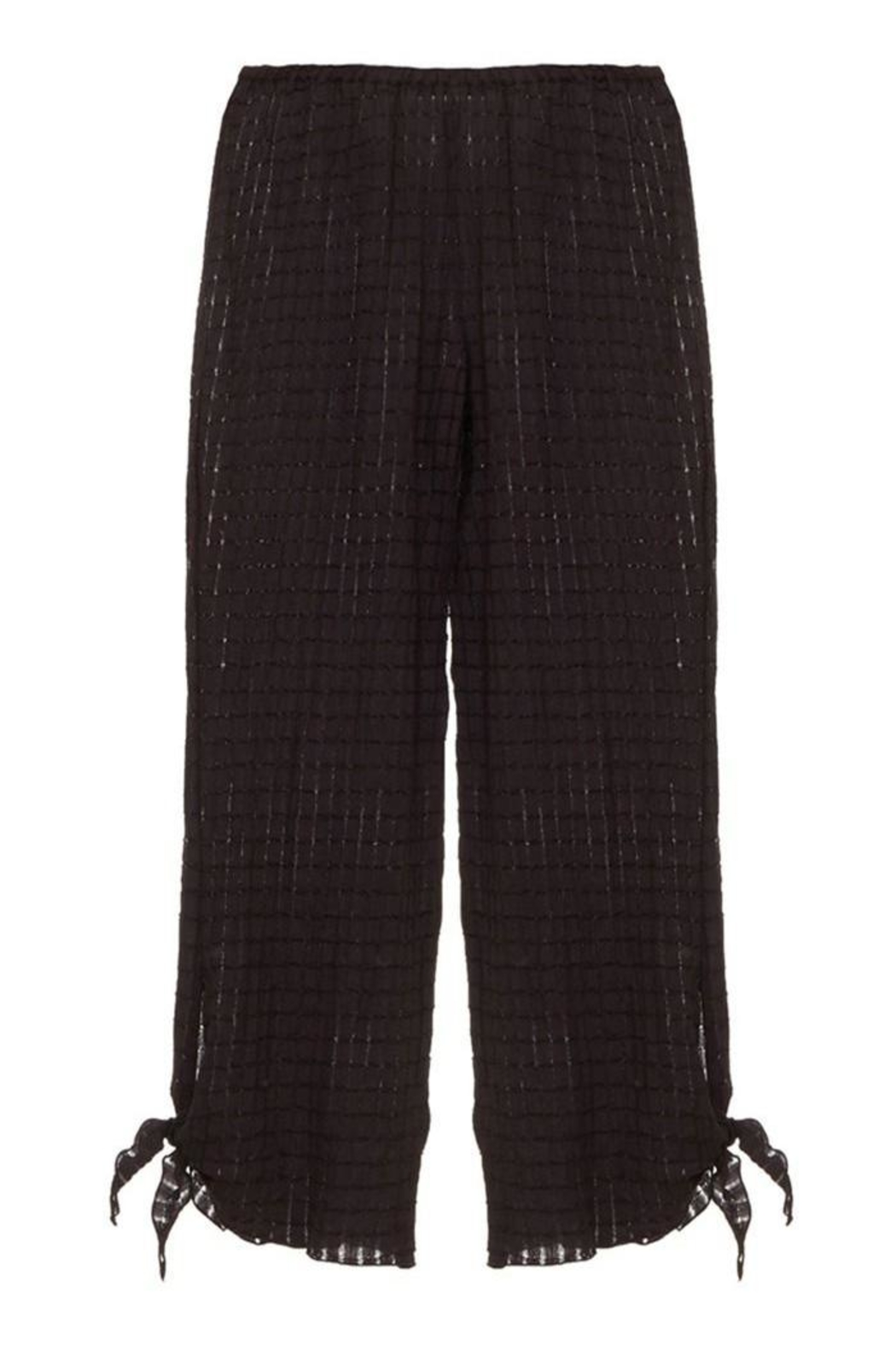 Eberjey Paz Knotted Pant - Front Full Image