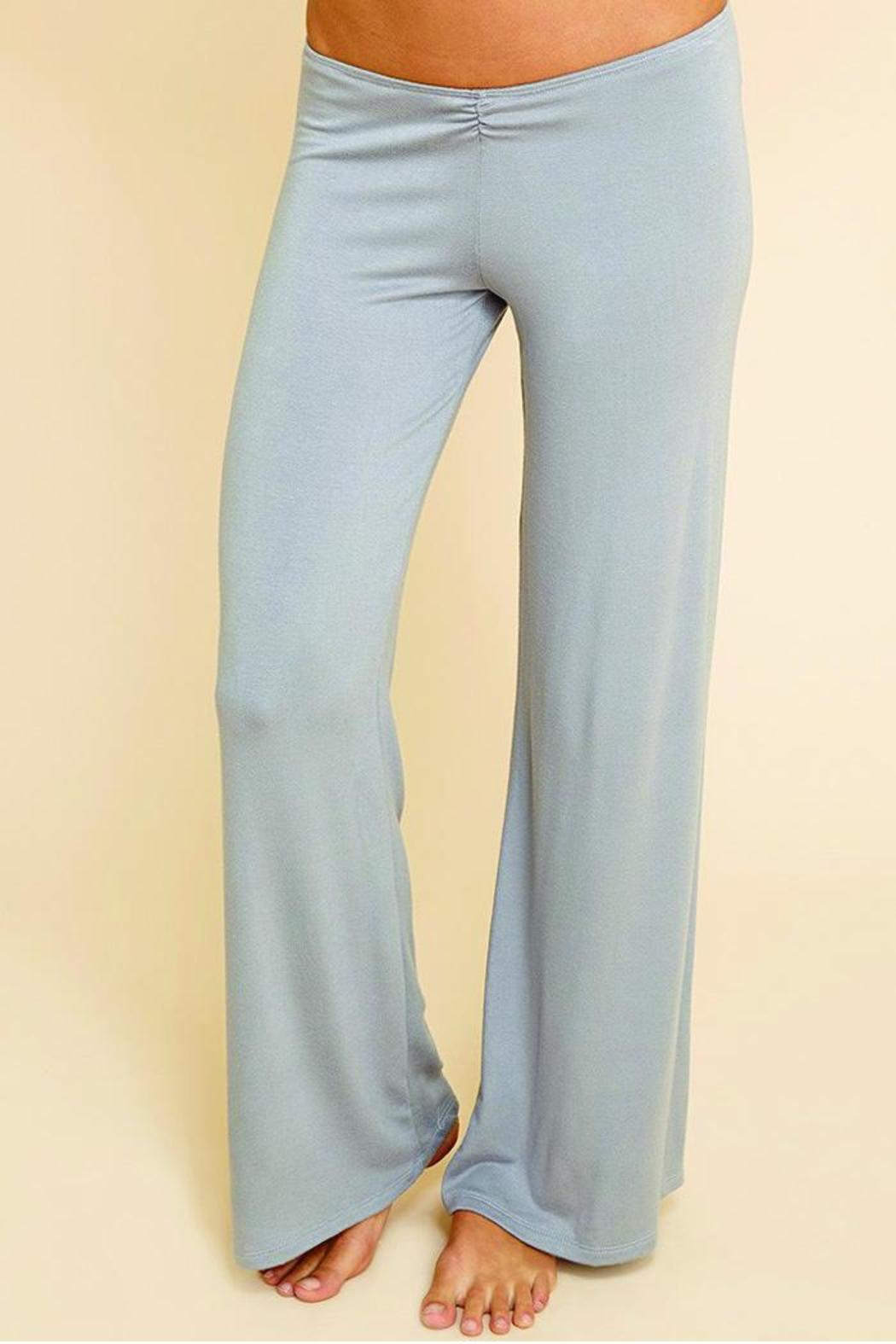 Eberjey Sadie Cinched Pant - Front Cropped Image