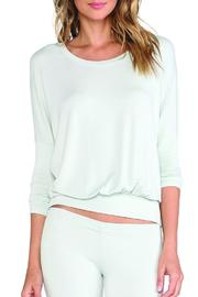 Eberjey Slouchy Lounge Top - Product Mini Image