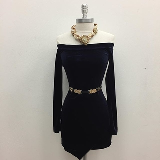 Shoptiques Product: Long Sleeve Black Dress
