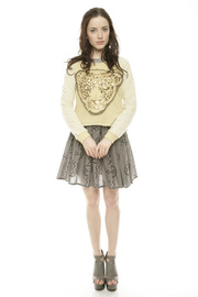 the Clas-sic King of the Jungle Sweater - Front full body
