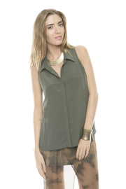 Shoptiques Product: Hi-lo Collared Top